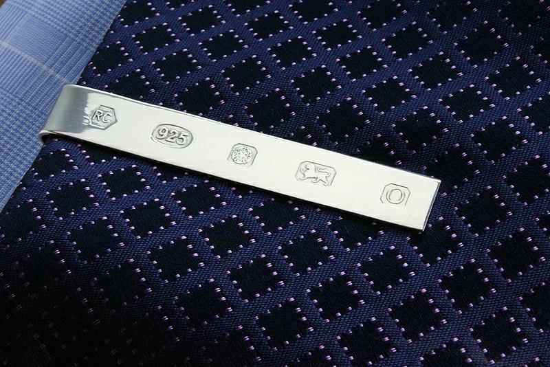 Tie Bar Sterling Silver