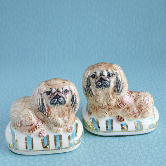 PEKINGESE CHINA FIGURES