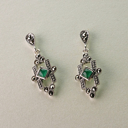 ART DECO VINTAGE STYLE EARRINGS
