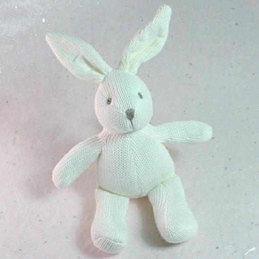 White Bunny Toy