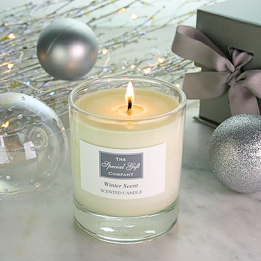 Winter Scent Candle, Scented Candle, Natural Candle, Christmas Candle, Christmas Gift Idea