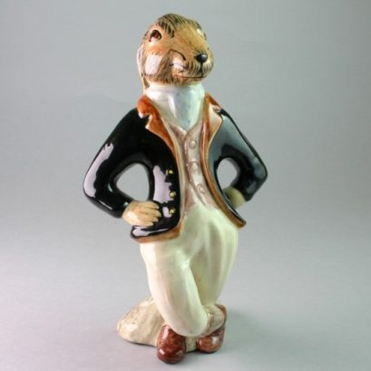 """HUGO"" CHINA HARE FIGURE"