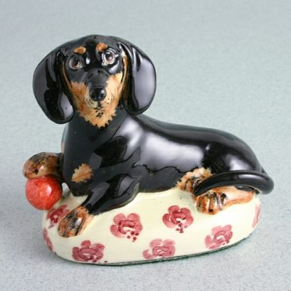 DACHSHUND CHINA FIGURE