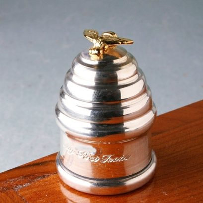 Beehive Silver Tooth Box
