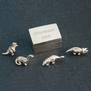 Dinosaur Box with miniature dinosaur, special gift
