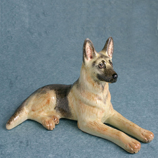 Alsatian Dog Figure, Miranda C Smith