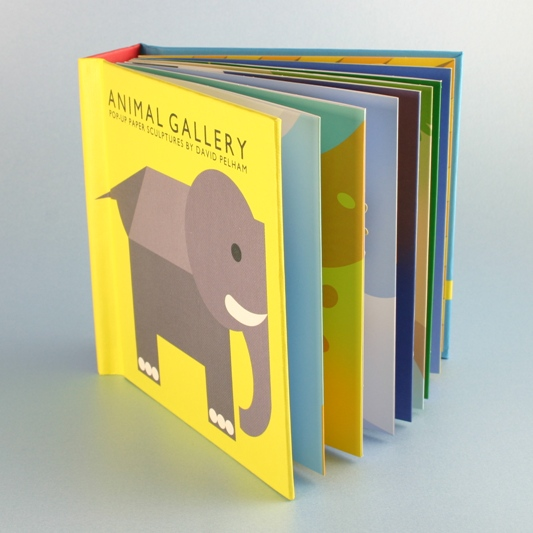 Animal Gallery Book, Gifts For Child