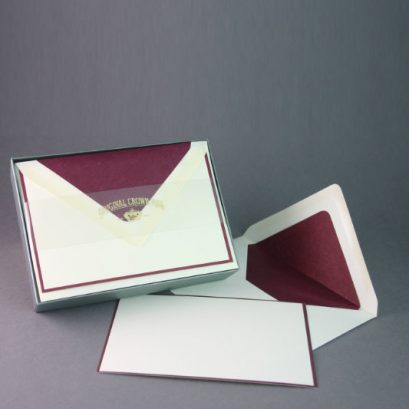 BORDERED NOTE CARDS