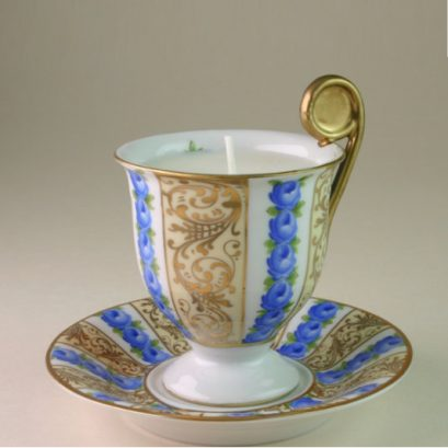 TEACUP CANDLE | TEA SCENTED
