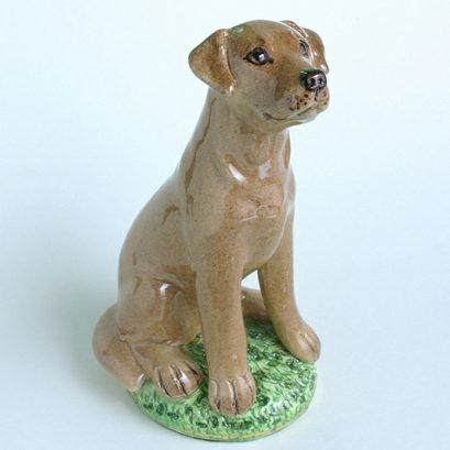 CHINA DOG FIGURE SITTING