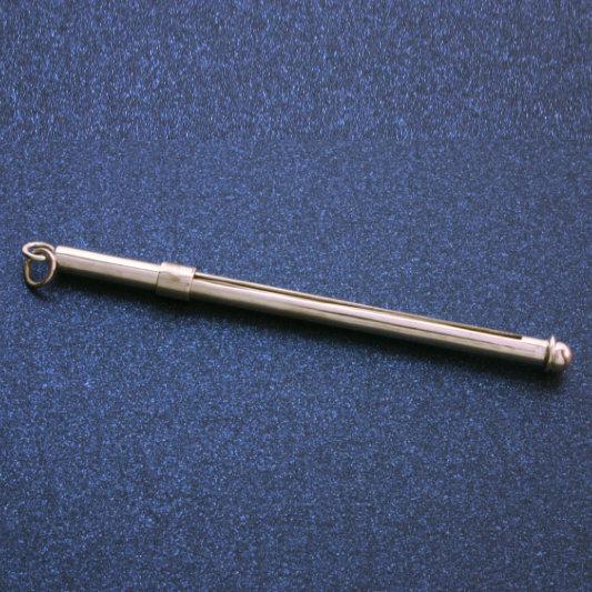 Silver Champagne Swizzle Stick