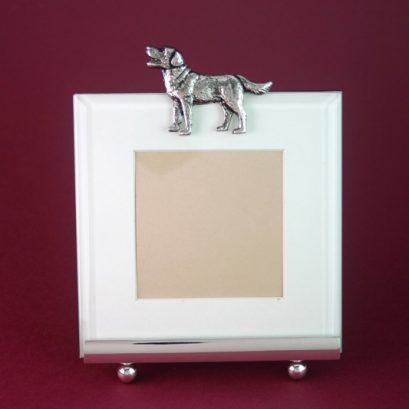 DOG MOTIF PICTURE FRAME