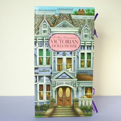 VICTORIAN DOLLS HOUSE BOOK 3D