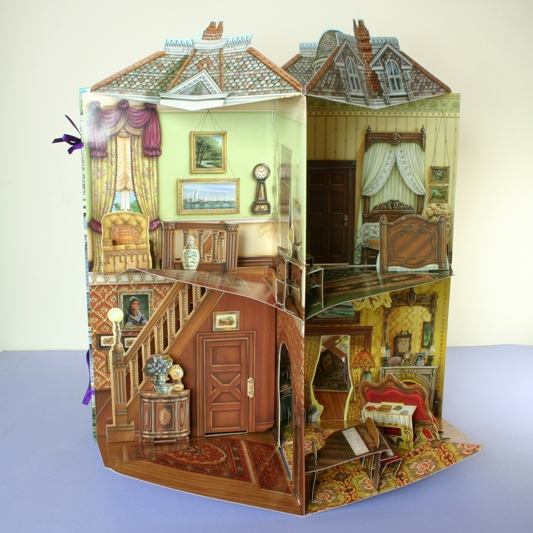 Victorian Dolls House Book 3d The Special Gift Company