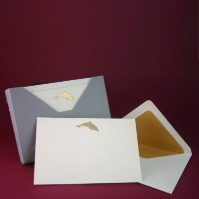 DOLPHIN MOTIF NOTECARDS