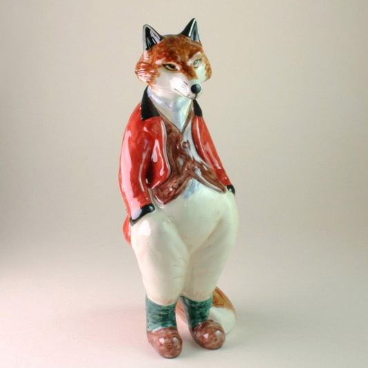 Freddy Fox China Figure