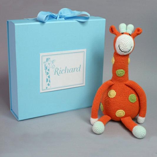 Giraffe Toy, Fair Trade, Hand Crochet