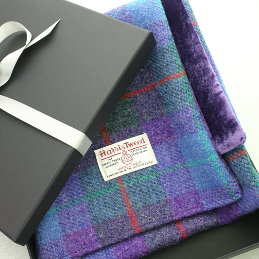 Harris Tweed Soft Velvet Scarft