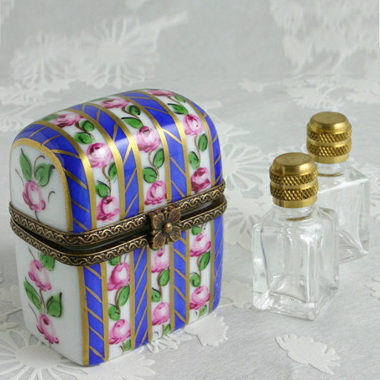 limoges perfume box hand painted in france gifts for her. Black Bedroom Furniture Sets. Home Design Ideas