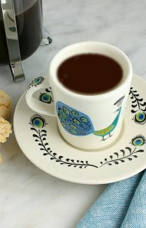 Espresso Coffee Cup & Saucer By Hannah Turner