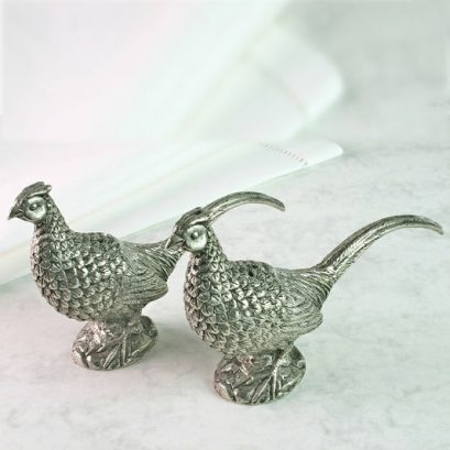 PHEASANT SALT & PEPPER POTS