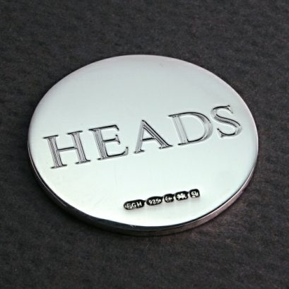 HEADS & TAILS SILVER COIN