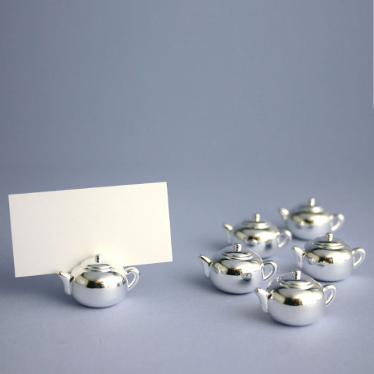 TEAPOT PLACECARD HOLDERS