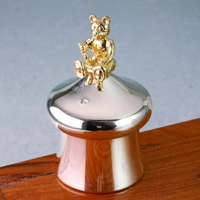 TEDDY TOOTH BOX SILVER