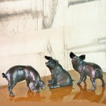 THREE LITTLE PIG BRONZES | LIMITED EDITION