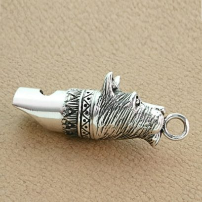 TERRIER DOG HEAD WHISTLE