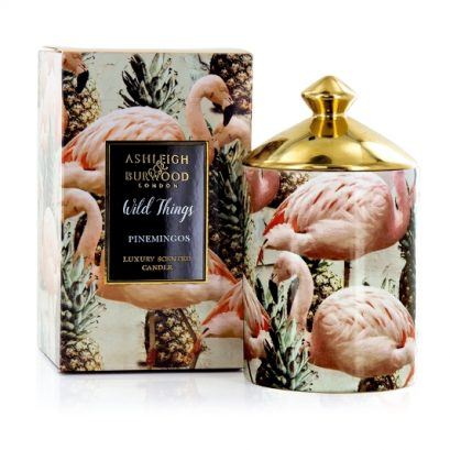 WILD THINGS PINEMINGOS-COCONUT-LYCHEE CANDLE
