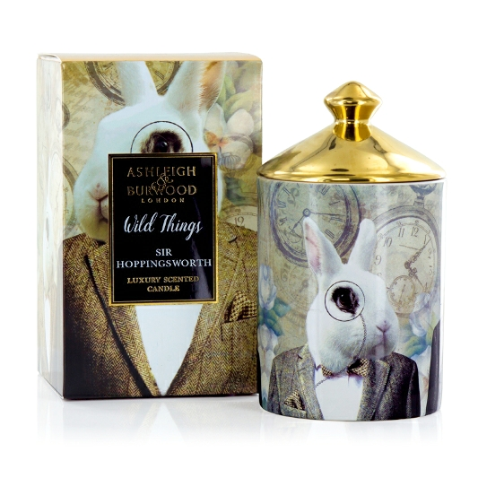 Wild Things Cognac And Leather Candle