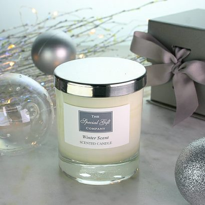 Winter Scent Natural Candle