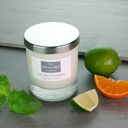 Lime, Basil & Mandarin Candle, Scented Candle, Natural Candle, Gift For Home