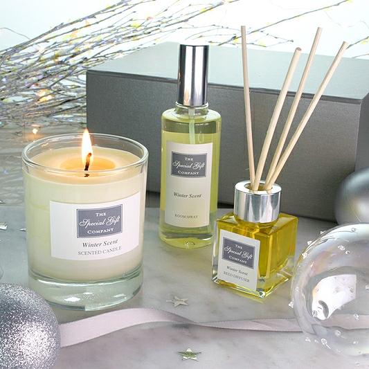 Winter Scent Gift Box, Home Fragrance Box Home Scent Gift Box