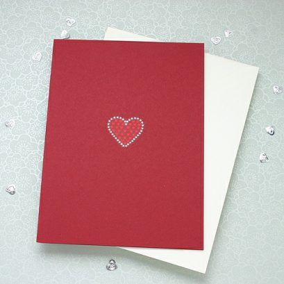 HEARTS VALENTINE'S CARD