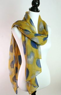 Faded Hearts Scarf, Scarves For Women