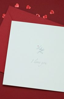 I LOVE YOU CUPID VALENTINE'S CARD
