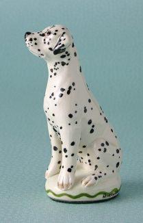 Dalmatian Dog Figure Miranda C Smith