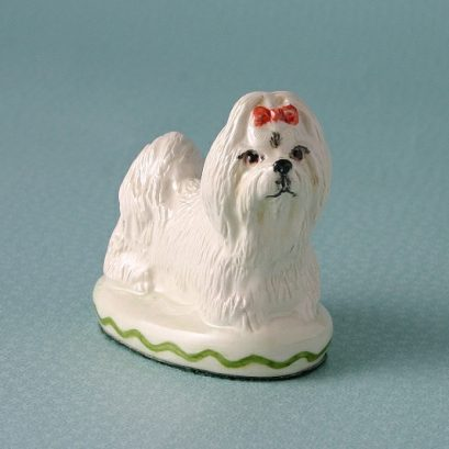 MALTESE TERRIER ORNAMENT