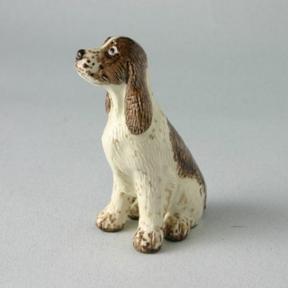 Springer Spaniel China FigureMiranda C Smith. Special Gift, Dog Lover