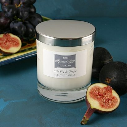 Wild Fig & Grape Scented Candle, Special Gift For Her, Gift For Home, Housewarming Gift