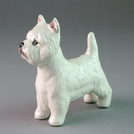 West Highland Terrier By Miranda C Smith, Gift For Dog Lovers, Dog Ornament, Dog Figurine