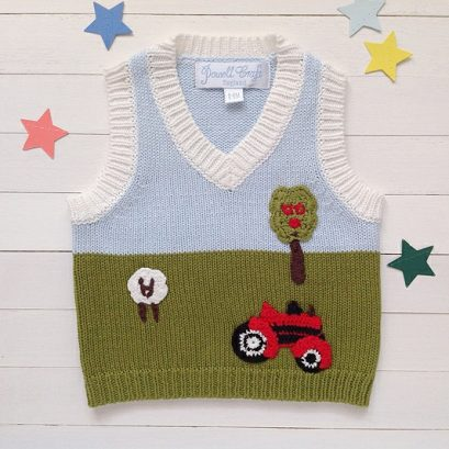TRACTOR TANK TOP JUMPER