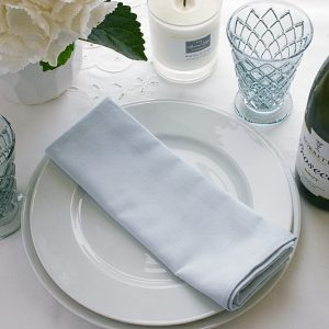BLUE NAPKIN SET OF FOUR