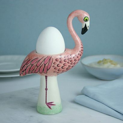 FLAMINGO EGG CUP