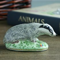 CHINA BADGER FIGURE