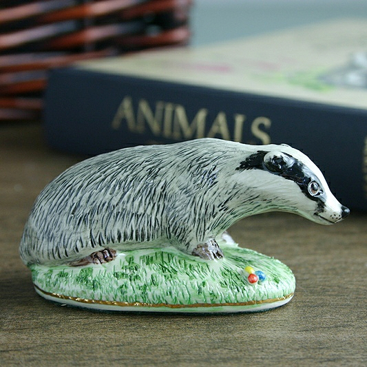 Badger Figure Made By Miranda C Smith, China Badger Figure, Great Gift For Lovers Of Britsih Wildlife