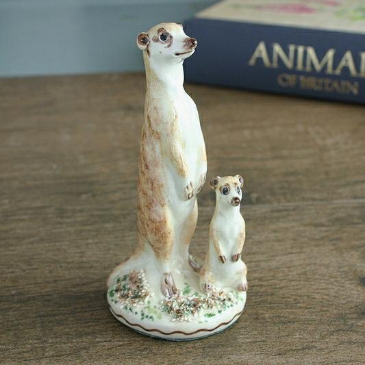 Meerkat China Figure, Meerkat Ornament
