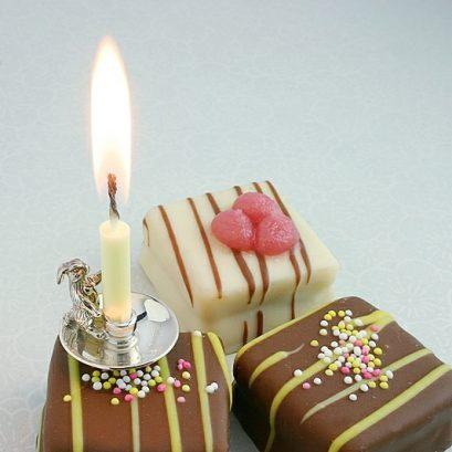 Rabbit Birthday Candle Holder